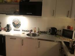 schöne schwarz weiße küche zu verschenken in münchen