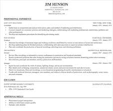 Jim Hensons Resume Built By Genius