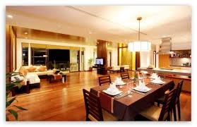 Download Spacious Dining Room Hd Wallpaper On Definition