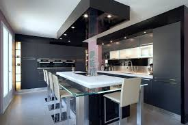 cuisine moderne design avec ilot ilot central bar cuisine rutistica home solutions