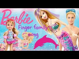 Barbie Pool Party With Barbie Doll And Ken Doll Finger Family Song