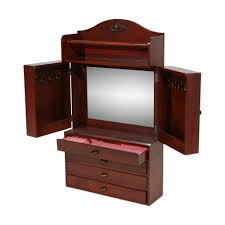 Amazon.com: Southern Enterprises Jewelry Armoire Wall Mount With ... Ideas Of Hives Honey Morgan 6 Drawer Walnut Jewelry Armoire On Amazoncom Southern Enterprises Classic Mahogany Black Large Size Walmart Meaning Waterford Merlot Hayneedle Armoirelopez Sevendrawer With Mirror Best Solutions Scroll 11 Best Jewelry Boxes Images On Pinterest Armoire Storage Sale Roselawnlutheran Brilliant In Dark And Store Exchange Box Repair