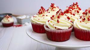 bull cupcakes velvet cupcakes