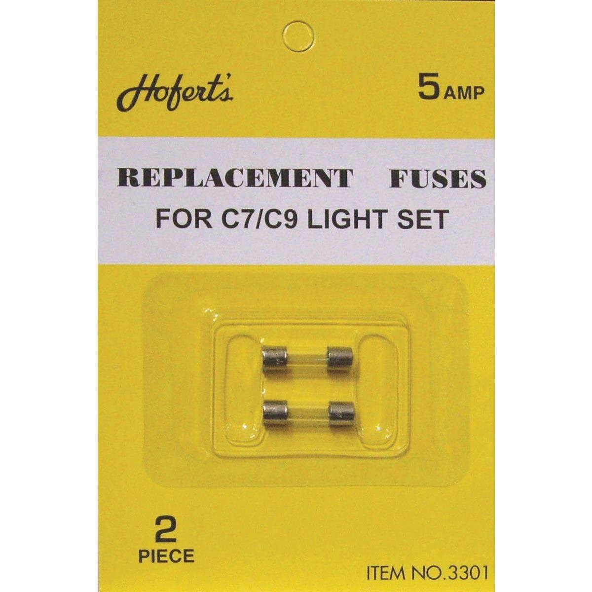J Hofert 3301 Christmas Light Set Fuses