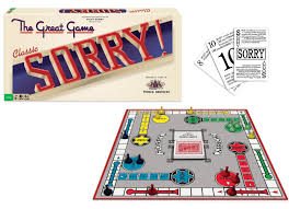 Sorry Classic Edition Board Game Family Fun