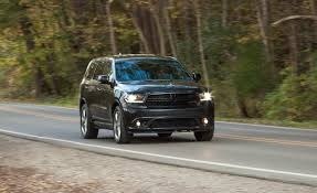 2015 Dodge Durango Captains Chairs by 2014 Dodge Durango R T Hemi Rwd Test U2013 Review U2013 Car And Driver
