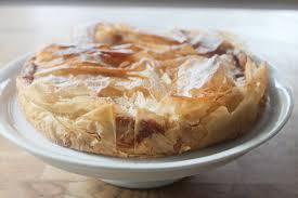 apfel quark kuchen mit filoteig