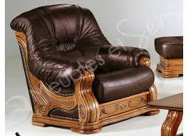 canapé cuir et bois rustique résultat supérieur 30 merveilleux fauteuil de salon en cuir