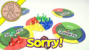 Sorry Express Travel Board Game 2007 Hasbro Parker Brothers Toys