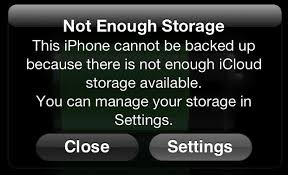 Not Enough Storage for iCloud Backup from iOS Here Are 2 Solutions