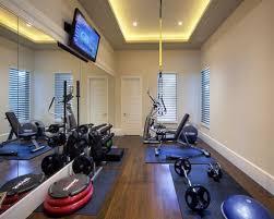 salle de sport idée déco salle sport maison sous sol idees