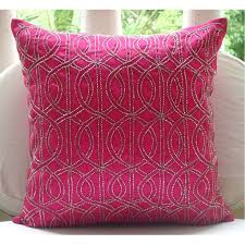 Hot Pink Throw Pillows Reconciliasian