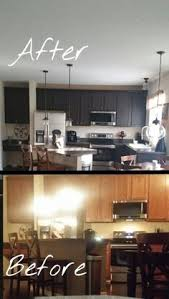 Rustoleum Cabinet Refinishing Home Depot by Rust Oleum Cabinet Transformation Before And After Home