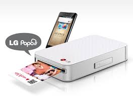 Amazon LG Pocket PD221 SILVER Mini Mobile Printer for