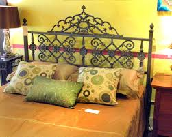 Wrought Iron Headboards King Size Beds by Furthur Wrought Iron And Carved Teak Beds