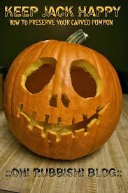 Preserving A Carved Pumpkin by Keep Jack Happy How To Preserve Your Carved Pumpkin Helping
