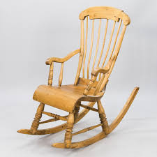 A Wooden Rocking Chair. - Bukowskis Directory Of Handmade Rocking Chair Makers Gary Weeks And A Wooden Bukowskis Cio Solid Wood Ladderback Brian Boggs Sunnydaze Decor Outdoor 2 Person Cushioned Loveseat With Foot Rest Canopy In Lime Green Urban Rok 306 Belham Living Raeburn Rope Chairs The Rocker Beautifully Worn Antique Rocking Chair This Style Is Known By Master Craftsman Robert Kernohan Uk Bowland Adirondack For Garden Or Patio Set Highwood Usa Mainstays Natural