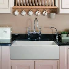 Copper Sinks With Drainboards by Kitchen Classy Farm Sink With Drainboard Porcelain Kitchen Sink