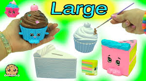 Big Inspired Shopkins Made From Cupcake & Cake Slice DIY Painting Craft Kit Clay