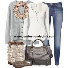 Casual Teens Outfits In Winter Just For Trendy Girls