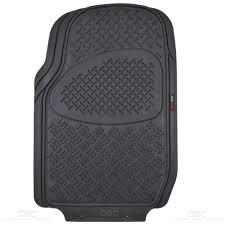Motor Trend Eco Odor-Free Floor Mat Van Truck Black 3 Row All ...