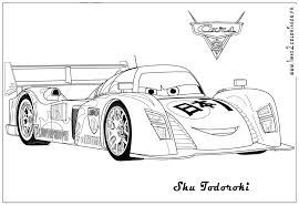 Cars 2 Coloring Pages Page Pixar Printable For Kids Free Games