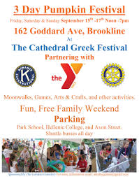 Nh Pumpkin Festival 2016 by Pumpkin Festival At Cathedral Greek Festival Brookline Ma