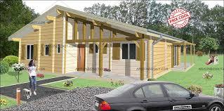 chalet en kit habitable prix prix chalet bois 3 chambres 100m2