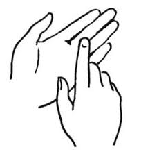 Hands And Feet Coloring Page 550x586