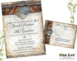 Rustic Wedding Invitation Like This Item Free Templates Uk