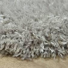 fellteppich kunstfell imitat flokati stil langflor teppich wohnzimmer grau
