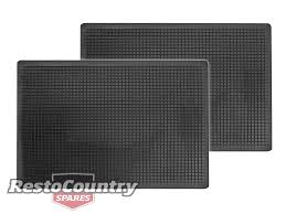 100 Truck Floor Mat Universal Rubber PAIR QUALITY 445mm X 598mm Car