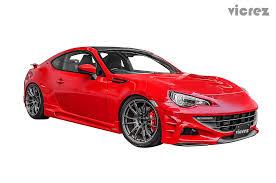 Scion Frs Red Floor Mats by Vicrez Scion Frs Subaru Brz 2013 2016 Vz Style Polyurethane Side