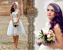 Custom Short Wedding Dress Knee Length Dresses Boho Bohemian