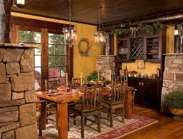 Rustic Country Dining Room Decor Color Ideas Luxury Under Home Improvement