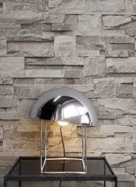 steintapete vliestapete grau schöne edle tapete im steinmauer design moderne 3d optik für wohnzimmer schlafzimmer oder küche inklusive der