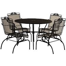 Wrought Iron Dining Set 5 Piece Action Rocking Patio Outdoor ... A Group Of Handforged Wughtiron Garden Fniture Outdoor Chairs Wrought Iron Garden Bench 2 Seater Buy Chairsgarden Seateroutdoor Product On Alibacom Peacock Blue Incbruce Fniture Bistro Set Ding Indoor Chair Neo361 Metal Woodard Patio Paint C Holaappinfo House Cartoon Fniture Wrought Iron Tables Chairs Four Antique Garden Antiqueswarehouse Vintage Table Six Stock Photo Edit Now Stylish Antique Rod New Design Model China Cafe And Tables