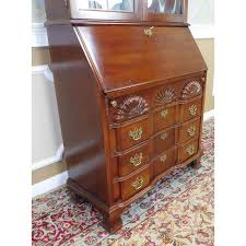 jasper cabinet company cherry governor winthrop secretary desk