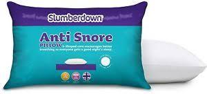 Slumberdown Anti Snore Pillow White