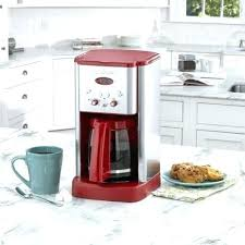 Red Coffee Maker Walmart Cup Coffeemaker Stainless Steel