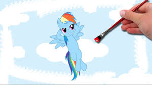 My Little Pony S Rainbow Dash By Coloring Book