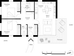 plan maison plain pied 6 chambres impressionnant maison 6 chambres ravizh com