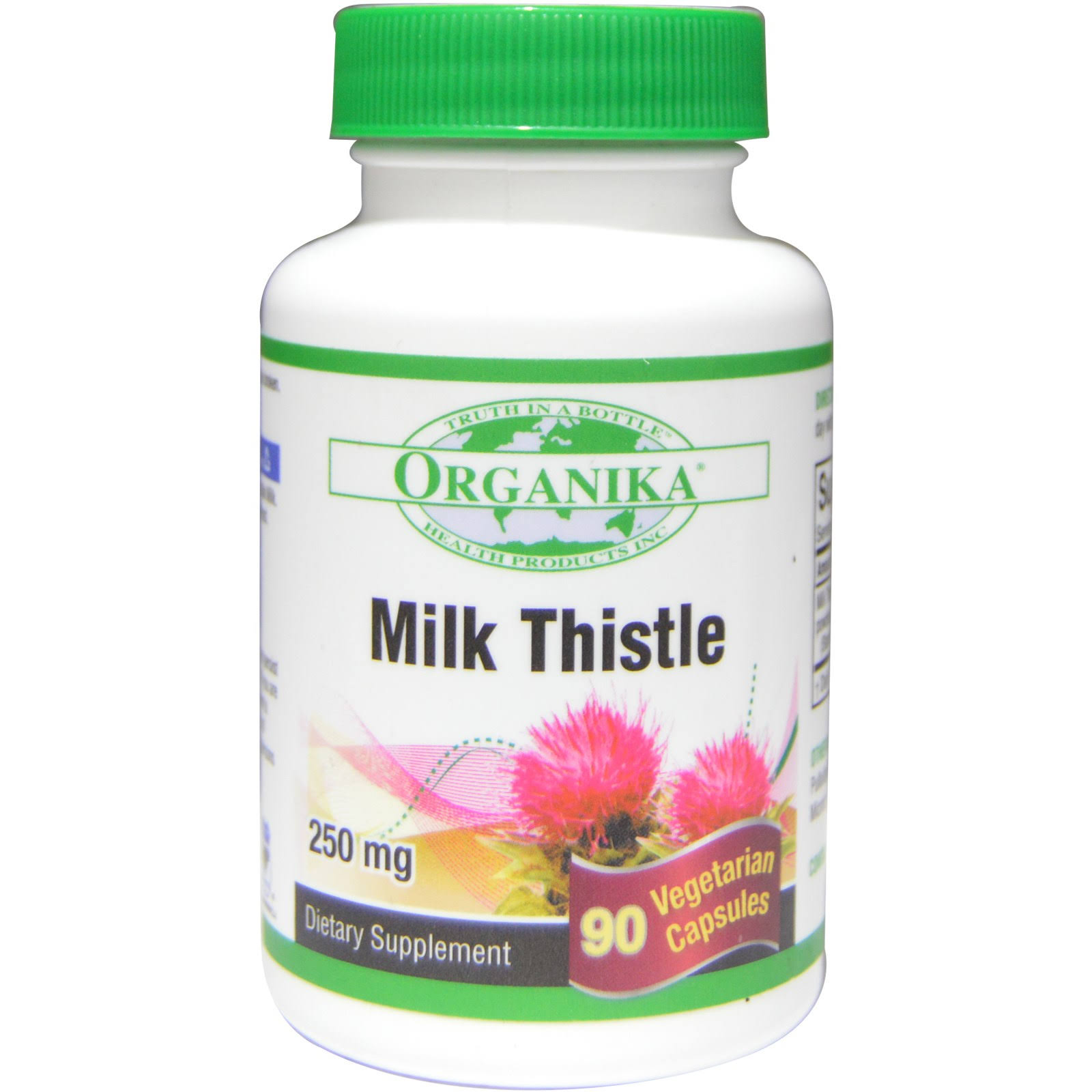 Organika, Milk Thistle, 250 mg, 90 Veggie Caps