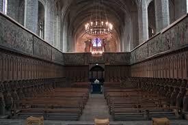 abbaye de la chaise dieu file abbaye robert de la chaise dieu chœur monastique