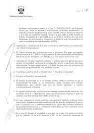 SENTENCIA DEL TRIBUNAL CONSTITUCIONAL En Lima A Los 1z Días Del