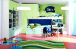 20 Modern Themed Kids Room Designs For Boys And Girls Pastel : doodmix - Modern Bunk Rooms For Teenage Boys