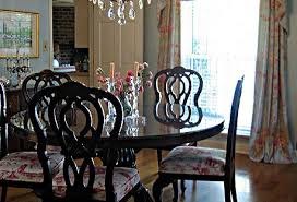Formal Dining Room In British Colonial Style