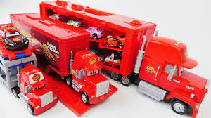 100 Big Mack Truck Camin Y Coches Disney Cars And McQueen Change Colors