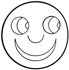 Extraordinary Smiley Face Coloring Pages Large Printable For Kids