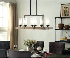 Industrial Chic Chandelier Rustic Dining Lighting Room Ideas Modern Lamp Hanging Light Chandeliers